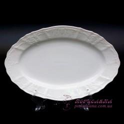 """Блюдо овальное Bernadotte, 34см. /декор """"Невеста""""/"""
