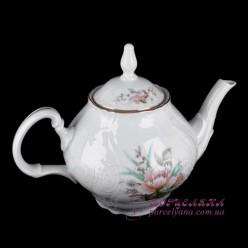 """Заварочный чайник Bernadotte /декор """"Осенний букет""""/"""