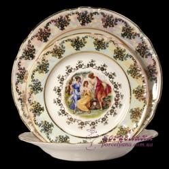 "Набор тарелок Constance, 18 пр. /декор ""Мадонна, перламутр""/"