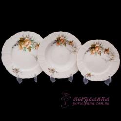"Набор тарелок Bernadotte, 18 предметов /декор ""Осенний букет""/"