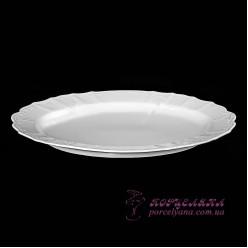 Блюдо овальное Bernadotte  34 cм /Без декора/