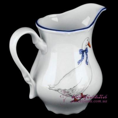 """Молочник Constance, 0,85 мл. /декор """"Гуси""""/"""