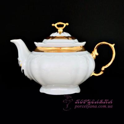 "Заварочный чайник Marie-Louise, 1,6 л.  /декор ""Золотая лента""/"