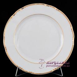 """Набор десертных тарелок Constance, 19 см, 6 пр. /декор """"Золотая полоска""""/"""