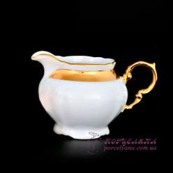 """Молочник высокий с ручкой Marie-Louise, 0.4 л. /декор """"Золотая лента""""/"""