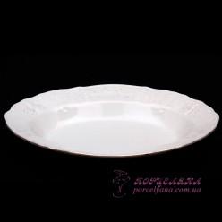 """Блюдо овальное Bernadotte, 24см. /декор """"Невеста""""/"""
