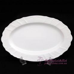 Блюдо овальное Bernadotte  36 cм /Без декора/