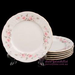 "Набор глубоких тарелок Bernadotte, 23см. /декор ""Бледные розы""/"