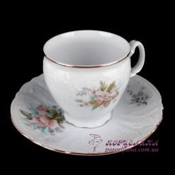 """Набор чашек для кофе Bernadotte, 90мл, 12 пр. /декор """"Осенний букет""""/"""