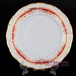 """Набор десертных тарелок Marie-Louise, 19см. 6 пр. /декор """"Красная лилия""""/"""