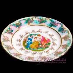 "Набор подставных тарелок Constance, 24см, 6 пр. /декор ""Мадонна, перламутр""/"