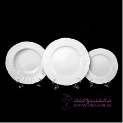 Набор тарелок Bernadotte, 18 предметов /без декора/