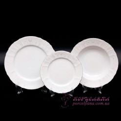 """Набор тарелок Bernadotte, 18 предметов /декор """"Невеста""""/"""