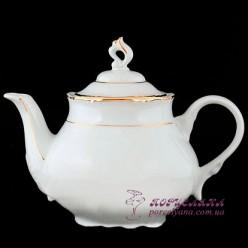 """Заварочный чайник Constance /декор """"Золотая полоска""""/"""