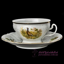 "Набор чашек для чая Bernadotte, 205 мл,  12 пр /декор ""Охота""/"