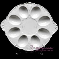 """Поднос для яиц Bernadotte, 25см. /декор """"Невеста""""/"""