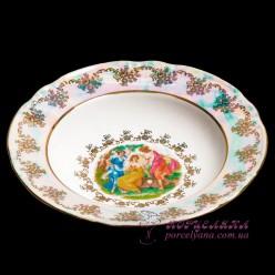 """Набор глубоких тарелок Constance, 23см, 6 пр. /декор """"Мадонна, перламутр""""/"""