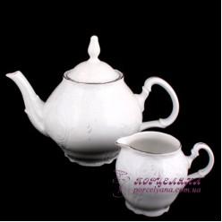 """Заварочный чайник Bernadotte /декор """"Невеста""""/"""