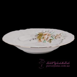 """Набор глубоких тарелок Bernadotte, 23см, 6 пр. /декор """"Осенний букет""""/"""
