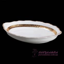 "Корзина для хлеба Marie-Louise, 33 см.  /декор ""Золотая лента""/"