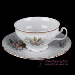 "Набор чашек для чая Bernadotte, 205мл, 12 пр. /декор ""Осенний букет""/"