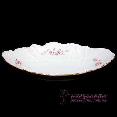 "Корзина для хлеба Bernadotte /декор ""Бледные розы""/"