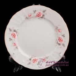 """Набор десертных тарелок Bernadotte, 19см. /декор """"Бледные розы""""/"""